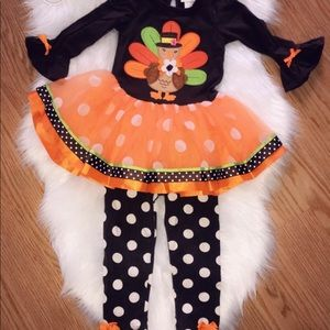 Toddlers Thanksgiving Outfit 🦃